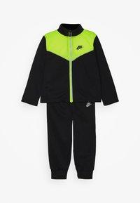 Nike Sportswear - 2 TONE ZIPPER TRICOT SET - Survêtement - black - 0
