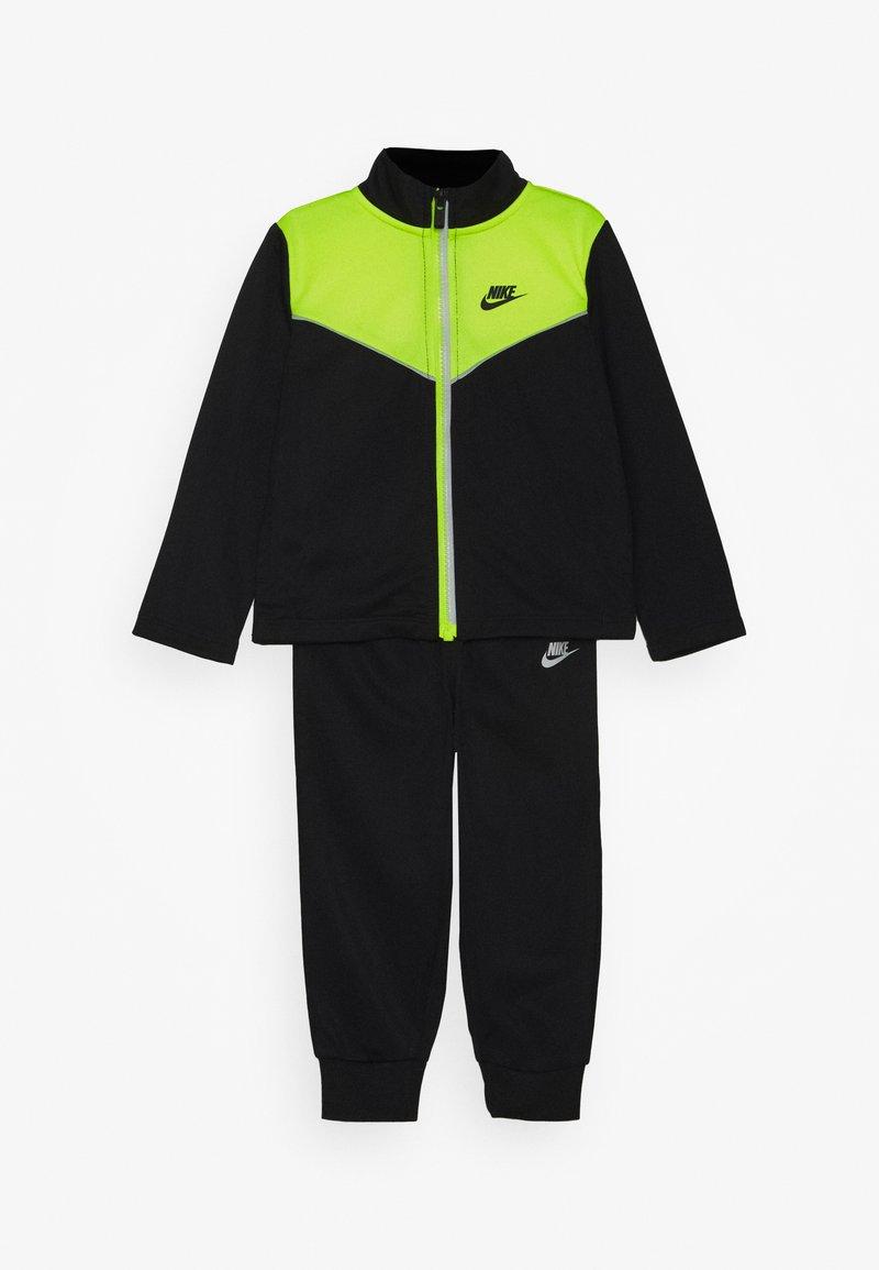 Nike Sportswear - 2 TONE ZIPPER TRICOT SET - Survêtement - black