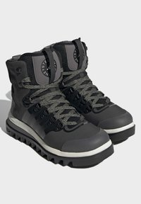 adidas by Stella McCartney - EULAMPIS MACCARTNEY OUTDOOR REGULAR SHOES MID - Winter boots - black - 2