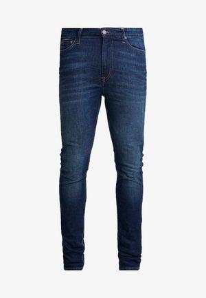 SIMON  - Jeansy Skinny Fit - dark-blue denim