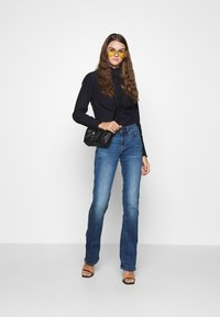 G-Star - WESTERN KICK FRILL SLIM LONG SLEEVE - Button-down blouse - rinsed - 1