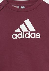 adidas Performance - LOGO SET UNISEX - Trainingspak - victory crimson/white - 3