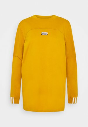 R.Y.V. SPORTS INSPIRED LONG SLEEVE T-SHIRT - Long sleeved top - legacy gold
