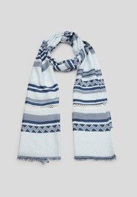 s.Oliver - Scarf - blue stripes - 1