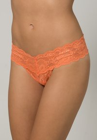 Cosabella - NEVER SAY NEVER CUTIE THONG - G-strenge - persimmon - 0