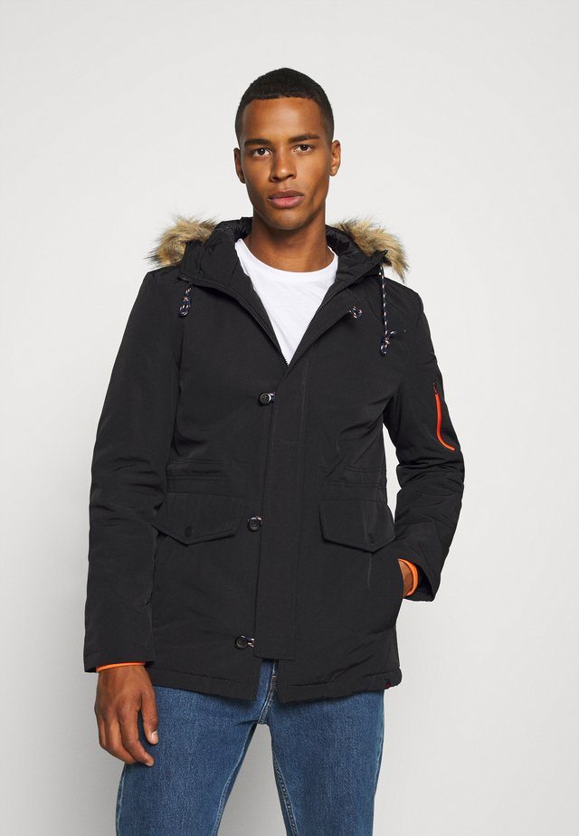 KONDY - Parka - black