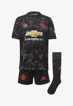 MANCHESTER UNITED THIRD MINI KIT - kurze Sporthose - black