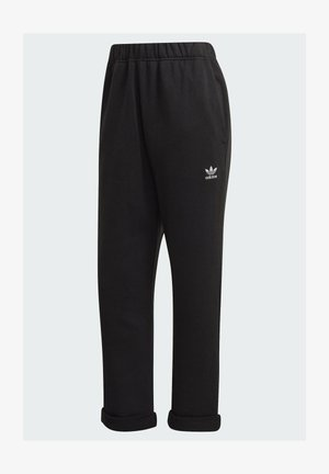 BF PANTS TREFOIL ESSENTIALS ORIGINALS RELAXED - Pantalones deportivos - black
