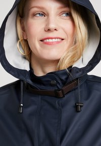 Ilse Jacobsen - TRUE RAINCOAT - Parkatakki - dark indigo - 3