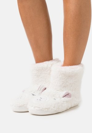 NOVELTY LAMB BOOTIE - Chaussons - white