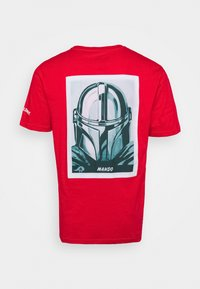 Element - STAR WARS X ELEMENT MANDO - Print T-shirt - fire red - 1