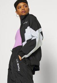 Nike Sportswear - STREET - Training jacket - black/pure platinum/white - 4