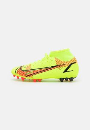 MERCURIAL 8 ACADEMY AG - Moulded stud football boots - volt/black/bright crimson