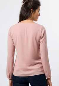 zero - MIT TRANSPARENTEN ÄRMELN - Long sleeved top - misty rose - 2
