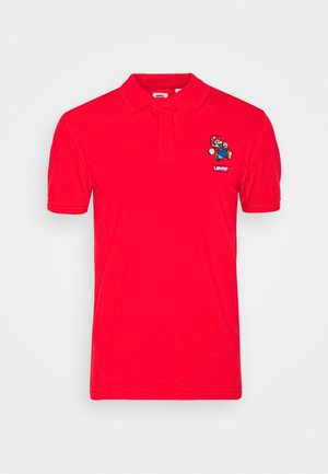 AUTHENTIC LOGO UNISEX - Polotričko - red