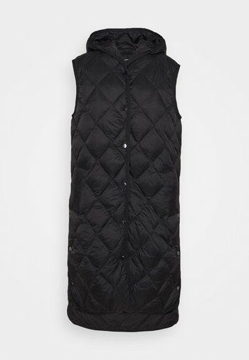 WIAMANT - Waistcoat - black