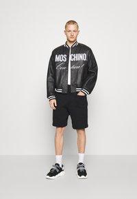 MOSCHINO - Leather jacket - black - 6