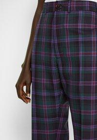 Vivienne Westwood - GEORGE  - Trousers - purple/green - 4