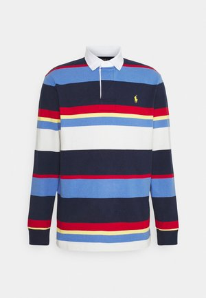 RUSTIC - Polo shirt - newport navy/multi