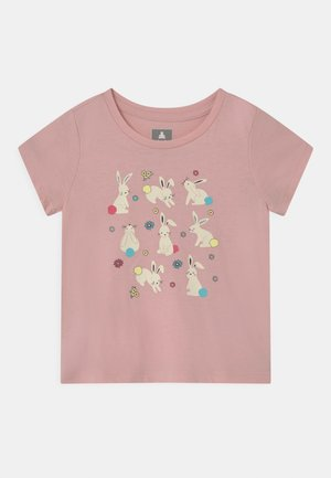 TODDLER GIRL - Print T-shirt - pink bunny