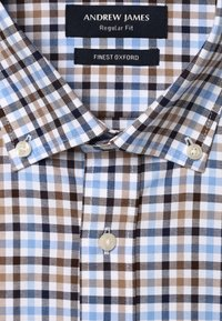 Andrew James - Shirt - braun hellblau - 2