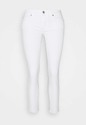 PYPER CROP - Jeans Skinny Fit - white