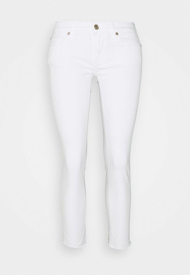 PYPER CROP - Jeans Skinny - white
