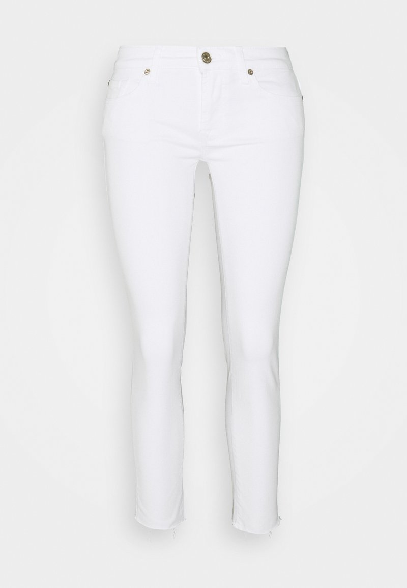 7 for all mankind - PYPER CROP - Jeans Skinny Fit - white