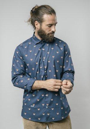 FOX IN - Shirt - blue