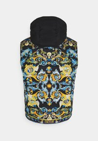Versace Jeans Couture - CRINKLE  - Waistcoat - black - 10
