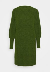 Selected Femme - SLFLINNA NEW DRESS O NECK - Jumper dress - twist of lime - 0