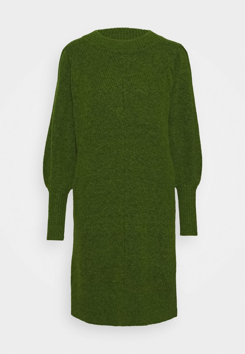 Selected Femme - SLFLINNA NEW DRESS O NECK - Jumper dress - twist of lime
