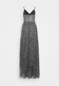 Maya Deluxe - STRAPPY ALL OVER MAXI DRESS - Ballkjole - charcoal - 1
