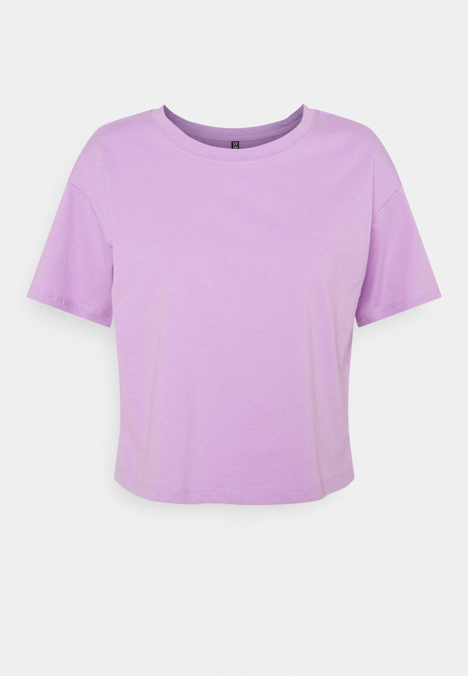 Women PCTAXANNA CROPPED TEE - Basic T-shirt