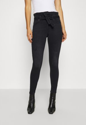 ONLHUSH LIFE  - Jeansy Skinny Fit - black