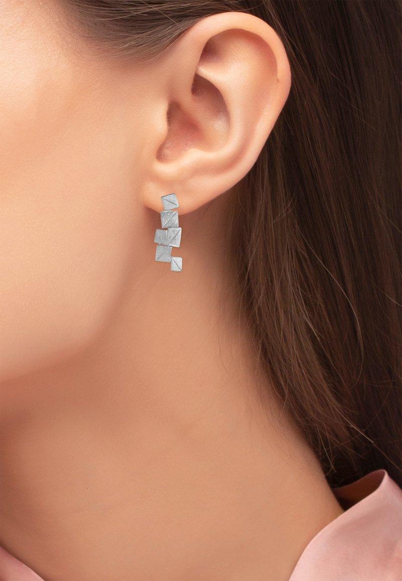 Heideman - Earrings - silberfarben glanzmatt