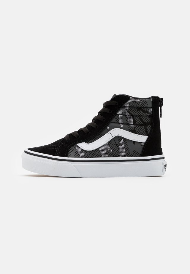 SK8 ZIP - Sneakers hoog - black/true white