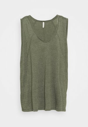 CITY VIBES TANK - Top - army