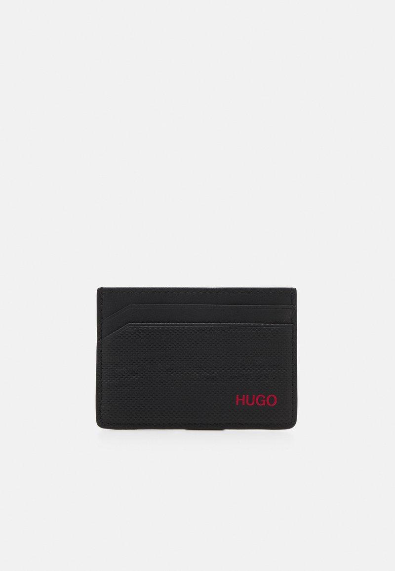 HUGO - AUSTEN CARD CASE UNISEX - Peněženka - black