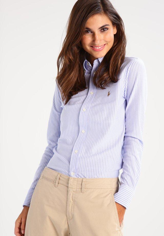 HEIDI - Button-down blouse - harbor island blue