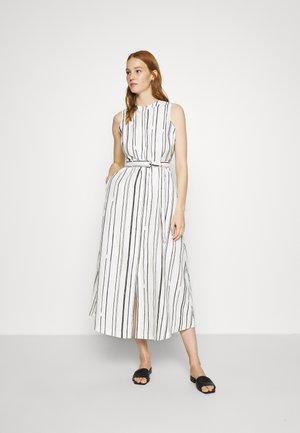 PRINTED DRESS - Day dress - white/black