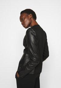 Pinko - BRADLEY JACKET - Leather jacket - black - 3