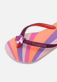 Havaianas - GLITTER COLOR - Sandalias de dedo - candy pink - 6