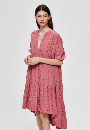 Day dress - mauveglow