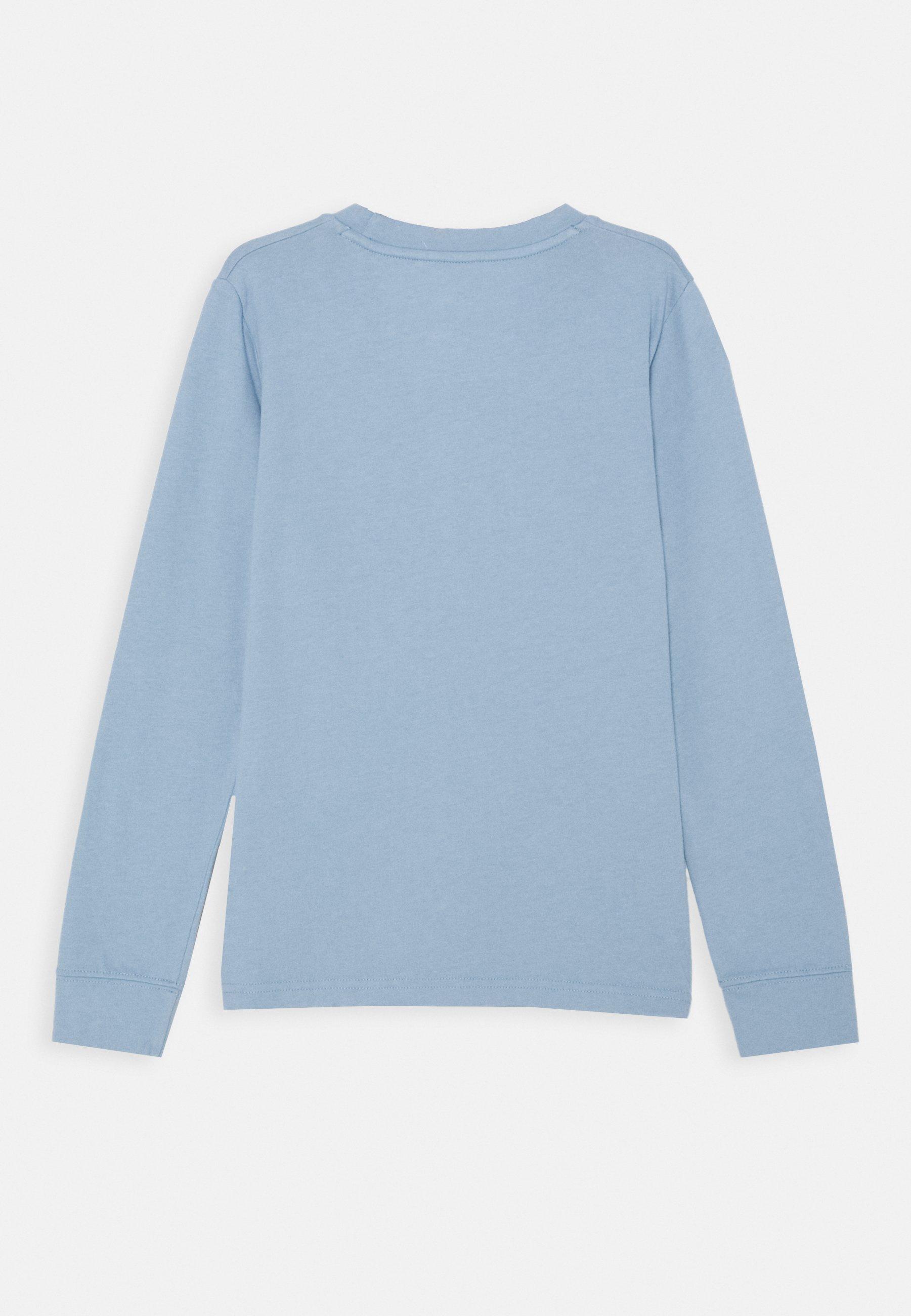 BASIC Långärmad tröja light blue