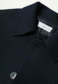 Mango - Classic coat - donkermarine - 5