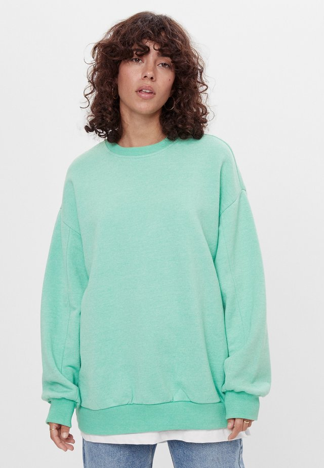Sweatshirt - green