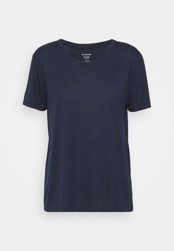 CREW  - Basic T-shirt - dark blue