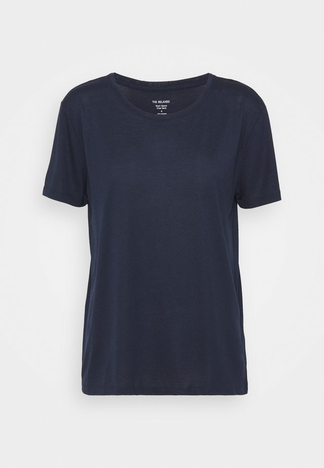 CREW  - T-shirt basique - dark blue