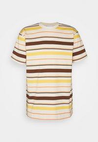 WAWWA - STRIPE UNISEX  - Print T-shirt - natural - 0